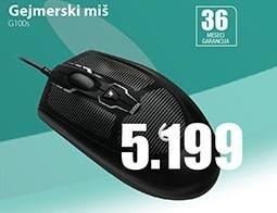 Gejmerski miš G100s