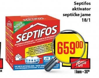 Aktivator septičke jame Septifos