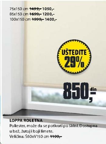 Roletna LOPRA