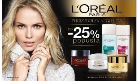 -25% proizvodi za negu lica