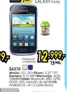 Mobilni telefon Galaxy Young S6310