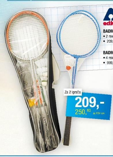 Badminton set za 2 igrača