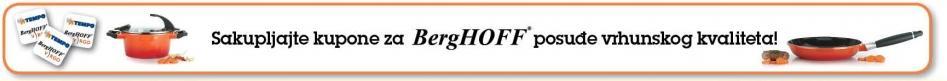 Sakupljajte kupone za BergHOFF posuđe vrhunskog kvaliteta