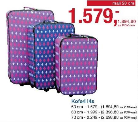 Kofer Iris 50cm