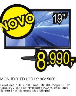 """19"""" LED LCD monitor LS19C150FS"""