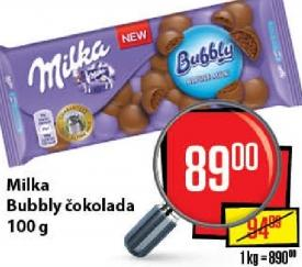 Čokolada bubbly