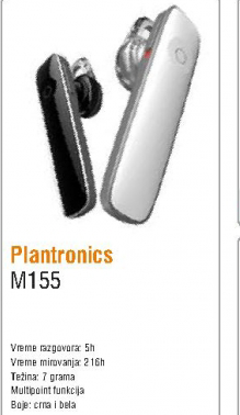Bluetooth slušalice M155