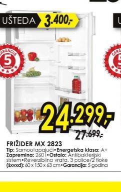 Frižider Mx 2823