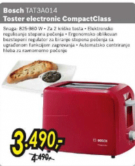 Toster TAT 3A014