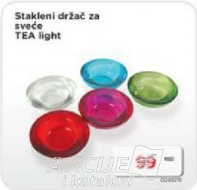 Stakleni držač za sveće Tea Light