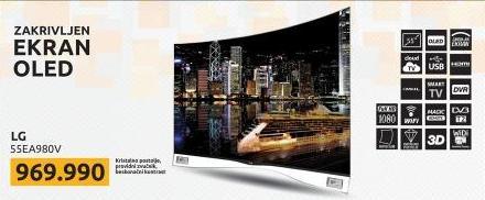 """Televizor LED 55"""" 3D 55EA980V"""