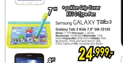 Tablet Galaxy Tab3 Kids SM-T2105
