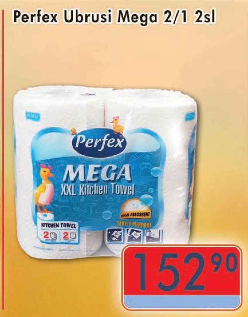 Papirni ubrus 2sl Mega
