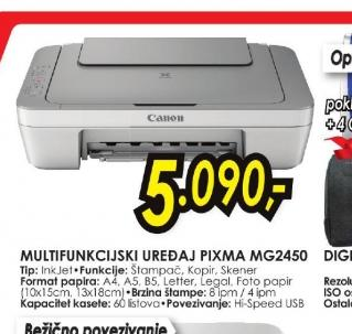 Multifunkcijski uređaj PIXMA MG2450