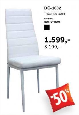 Trpezarijska stolica Dc 1002