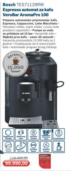 Automat za kafu VeroBar AromaPro 100 TES71129RW