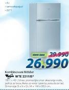 Frižider kombinovani WTE 2211 IS