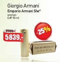 Parfem Emporio Armani She