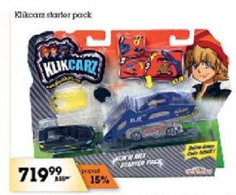 Igračka Klikcarz starter pack