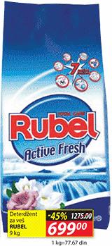 Deterdžent za veš active fresh