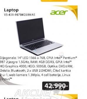 Notebook V5-431-987B4G50MASS