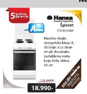 Šporet FCEW53049