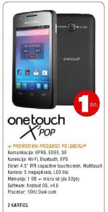 Mobilni telefon Onetouch X'pop