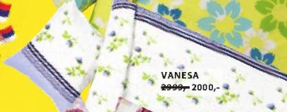 Set flanelske posteljine VANESA