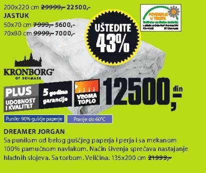 Jorgan Dreamer 135x200