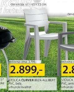 Baštenski stolica Ibiza