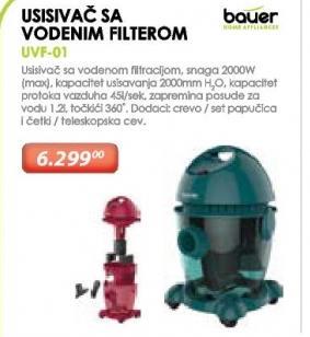 Usisivač Sa Vodenim Filterom UVF-01