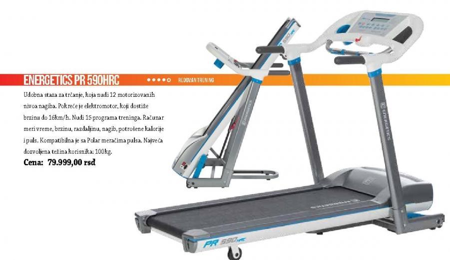 Traka za trčanje Energetics PR 590HRC