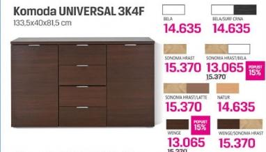 Komoda Universal 3k4f