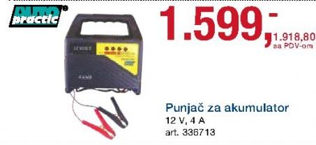 Punjač za akumulator Auto Practic