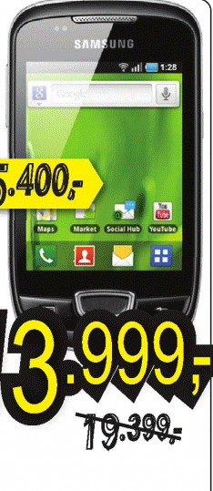 Mobilni telefon S5570 GALAXY MINI GREY