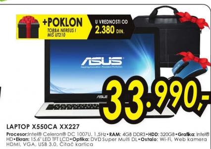 Laptop X550CA-XX227
