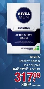 Balsam posle brijanja Sensitive