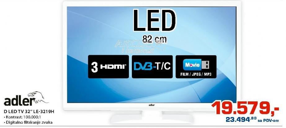 """Televizor LED 32"""" LE-3219H"""