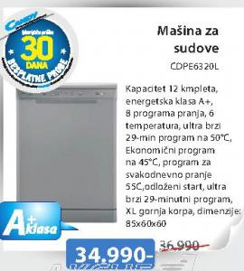 Sudomašina CDPE6320L