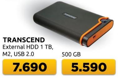 Eksterni hard disk M2 1TB