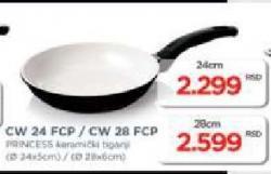 Keramički tiganj CW 24 FCP