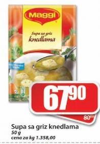 Supa sa knedlama