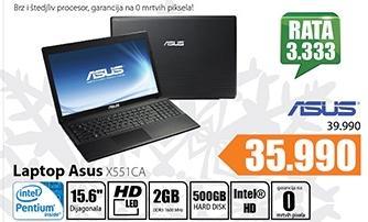 Laptop X551CA
