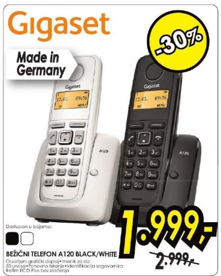 Bezicni telefon Gigaset A120