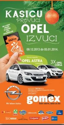 Kasicu provuci Opel izvuci