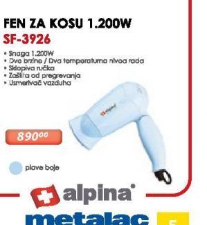 Fen za kosu SF-3926