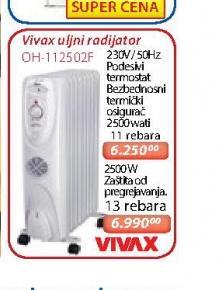 Uljni radijator OH 112502F