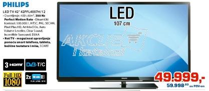LED Tv 42Pfl4007H/12