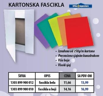 Kartonska fascikla