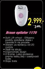 Epilator 1170